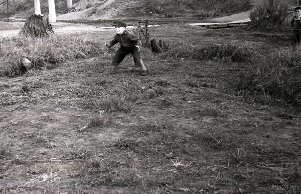 вратарь.1960г.  Ухта