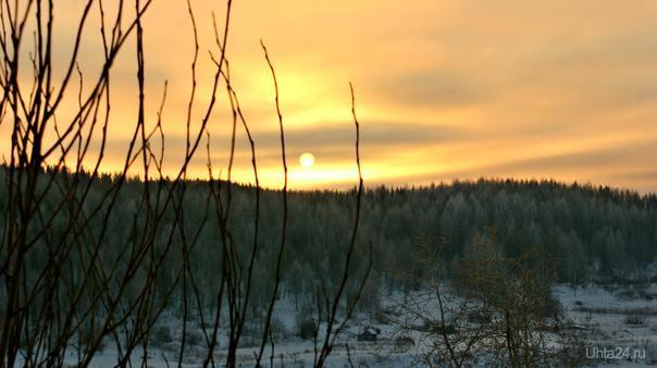 Закаты повторяются...только каждый неповторим Природа Ухты и Коми Ухта