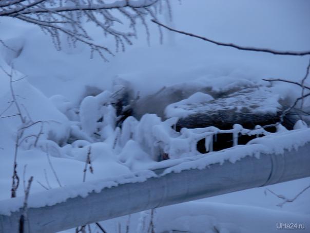 Пионергорский проезд в р-не дома № 4.Парит по полной программе,за наши деньги. Зато какие деревья вокруг красивые. Разное Ухта