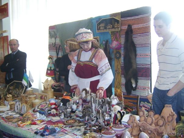 Выставка изделий народных промыслов и ремёсел Республики Коми. 5.04.2009г. ГДК. Мероприятия Ухта