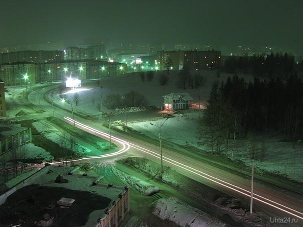 с крыши ул. Интернациональная Улицы города Ухта