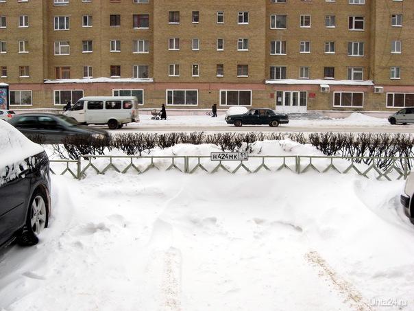 2011г. Каждому - по парковке. Парковке - по номеру. Улицы города Ухта