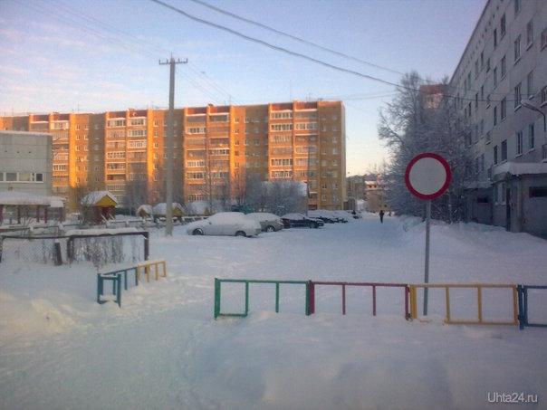 Движение через забор-запрещено! Улицы города Ухта