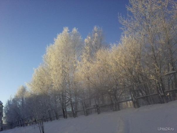 Зимнее:) Природа Ухты и Коми Ухта