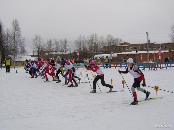 Первенство Республики Коми среди девушек и юношей по лыжным гонкам(эстафета).  Ухта