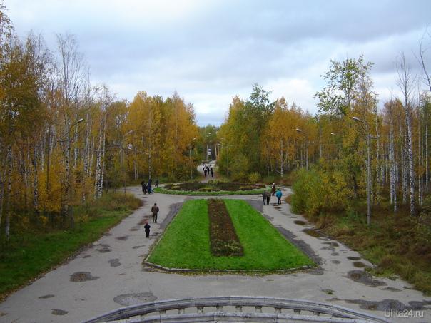 2004 г. парк КиО Улицы города Ухта