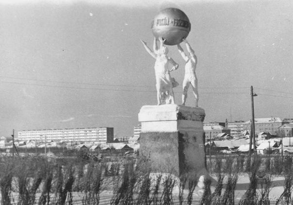 1967 г. Мира. Фото - Д. Иманкулов  Ухта