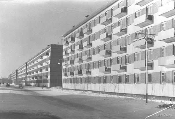1969-1970 г.г. Чибьюская. Фото Д. Иманкулов  Ухта