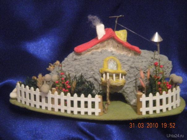 Мышкин дом со двора. Творчество, хобби Ухта