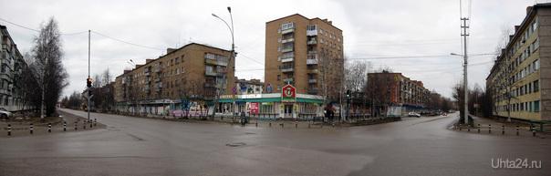 2011г 30 лет Октября - Юбилейная.  Ухта