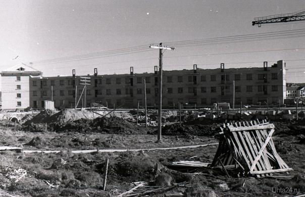 "так начинались ""черемушки"",май 1960г.  Ухта"