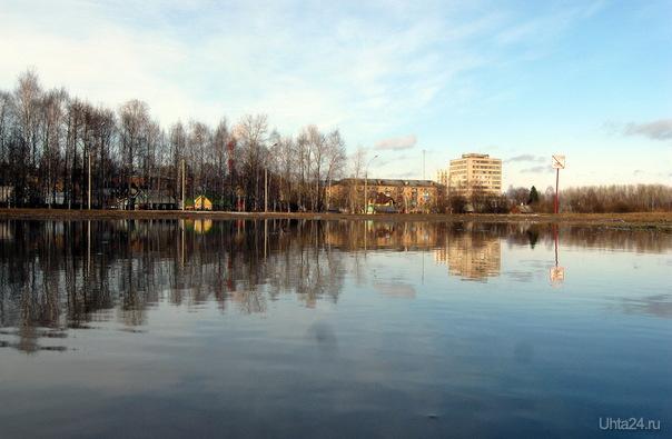 2011г. В парке. Улицы города Ухта