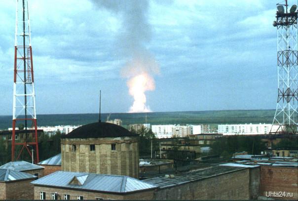 Взрыв газопровода  Ухта