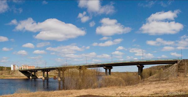 мост на Шудаяге Улицы города Ухта