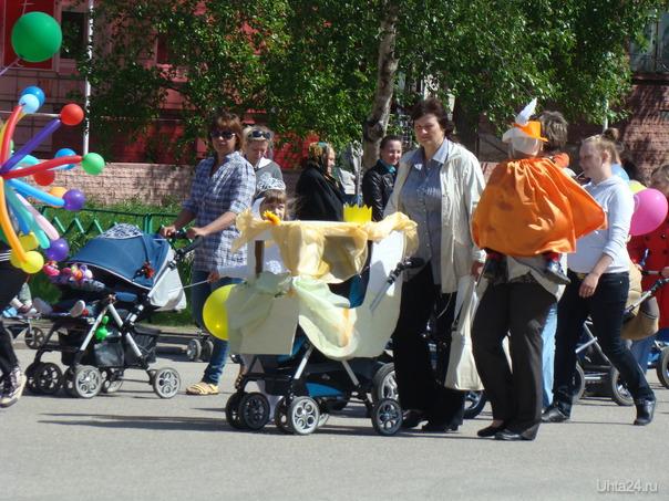 парад колясок 1.06.2011г Мероприятия Ухта