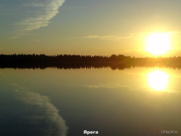 Озеро. Закат. 1 июня 2011 Природа Ухты и Коми Ухта