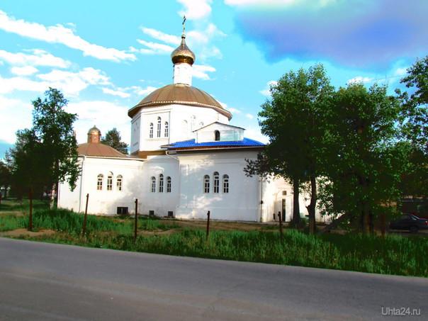 Храм на Водном Улицы города Ухта