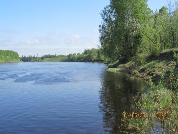 Река Лемью Природа Ухты и Коми Ухта