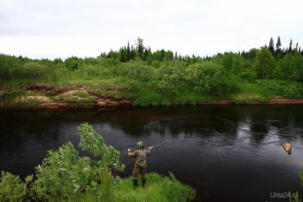 Рыбак. Природа Ухты и Коми Ухта