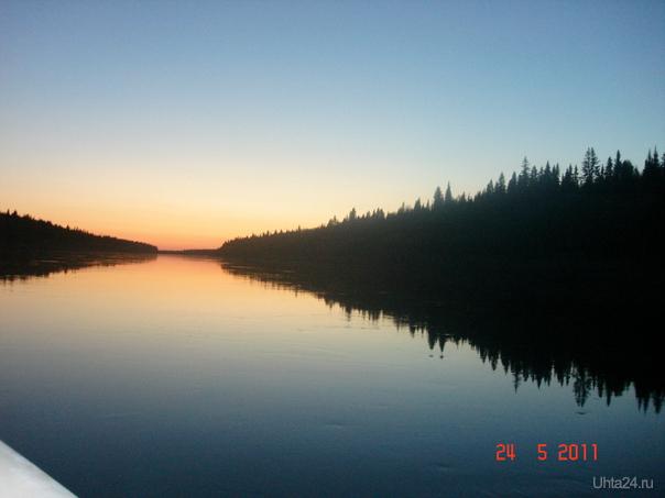Водный перегон Шудаяг - Печёра Природа Ухты и Коми Ухта