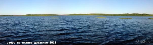 Озеро на нижнем Доманике- практически море! июнь 2011 Природа Ухты и Коми Ухта