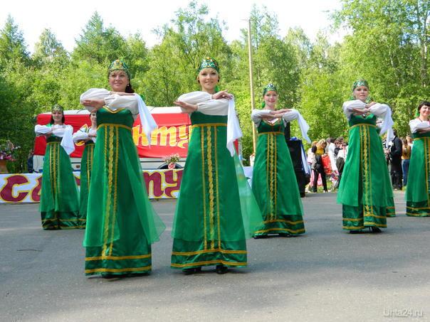 Сабантуй 2011г. Русский хоровод. Джазира Мероприятия Ухта