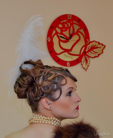 Прическа в стила 20-30гг для Парада невест 2011 OLA DE ROSA, САЛОН КРАСОТЫ Ухта