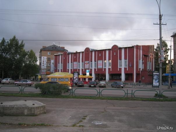 """Ленина пр-т 7, кинотеатр """"Юбилейный""""  Ухта"""