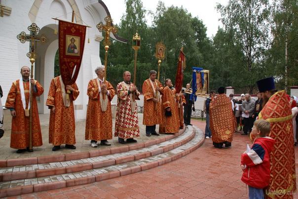Крестный ход в Ухте 17 июля 2011 Молебен о погибших Мероприятия Ухта