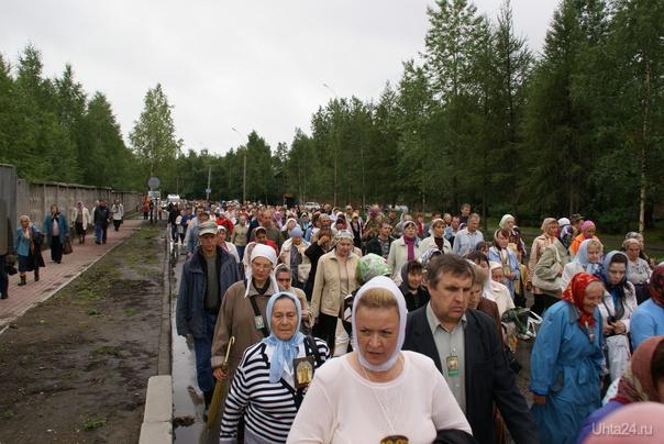 Крестный ход в Ухте 17 июля 2011 Мероприятия Ухта