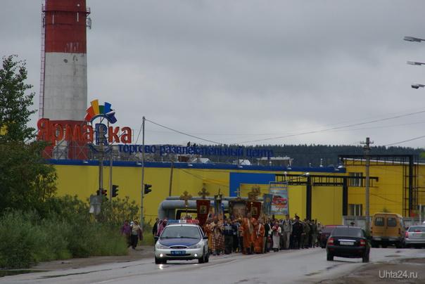 Крестный ход в Ухте 17 июля 2011 Разное Ухта