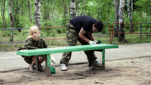 2011-07-23 Народный субботник в Парке II Мероприятия Ухта