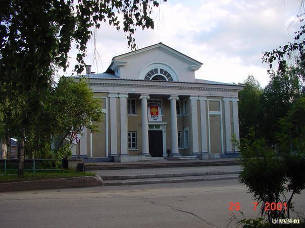 Дом молодежи, ул. Октябрьская, 2001 г. Улицы города Ухта
