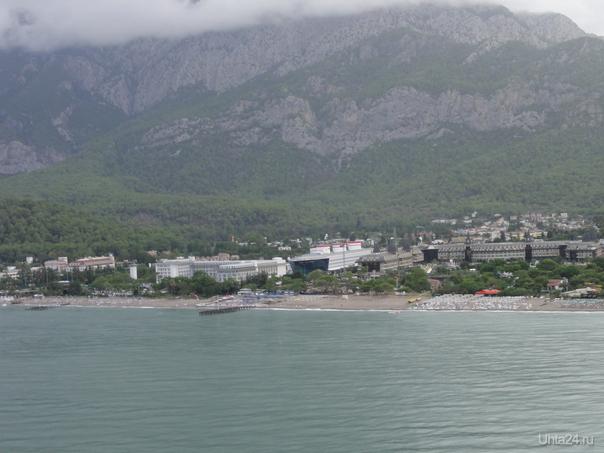 Окрестности Кемера. Турция.  Ухта