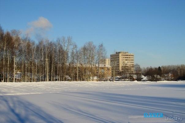 Напоминание о зиме Улицы города Ухта