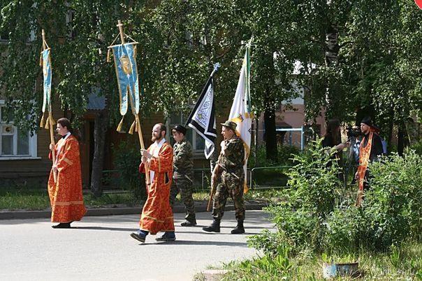 Крестный ход 17 июля 2009г. Мероприятия Ухта