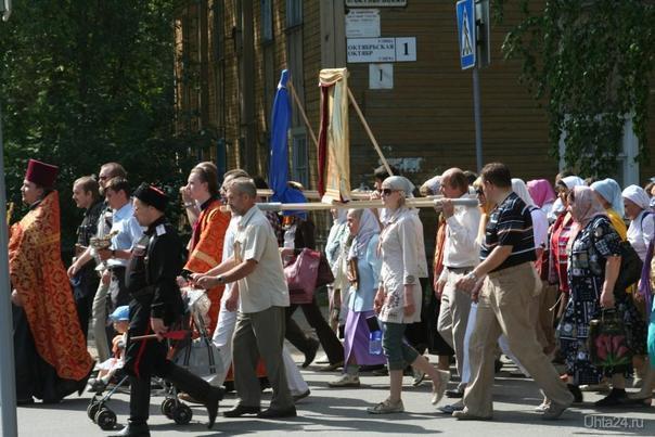 Крестный ход 17июля2009г. Мероприятия Ухта