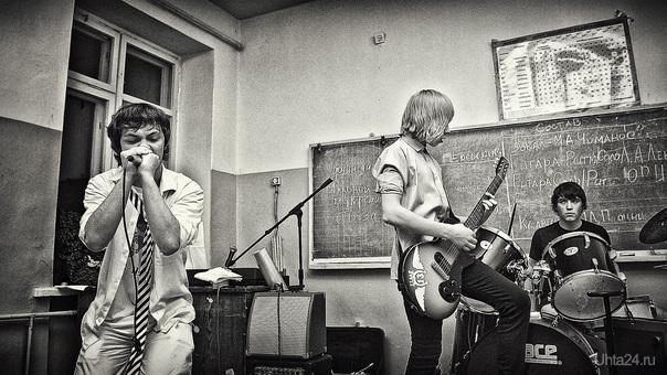 Первое выступление группы «Vodka». 2012-01-08 Мероприятия Ухта