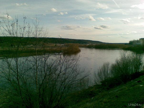 Речка Природа Ухты и Коми Ухта
