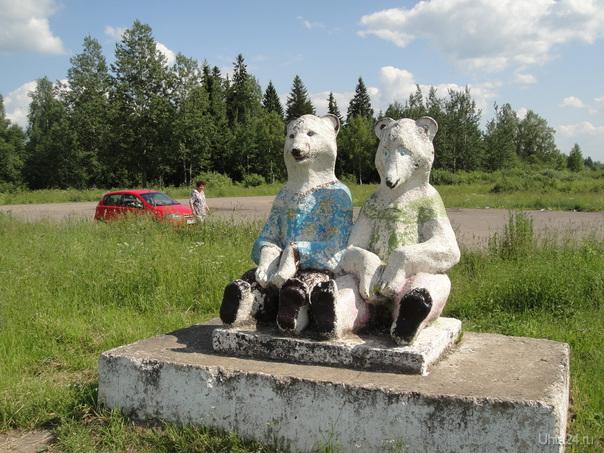 по дороге на Рыбинск. место для отдыха  Ухта