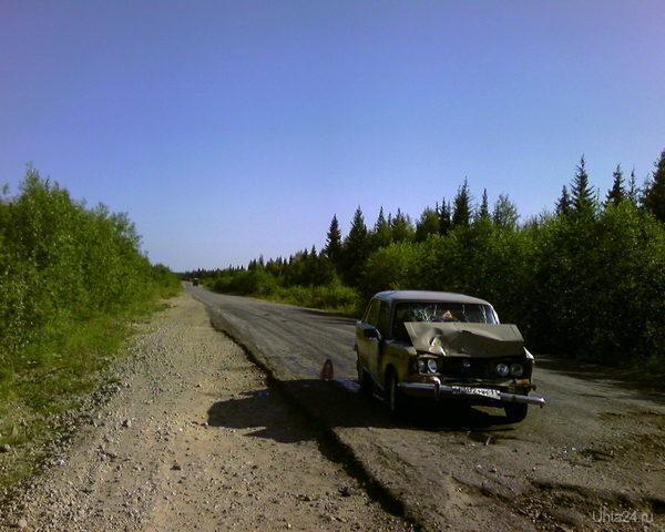 На дороге Ухта