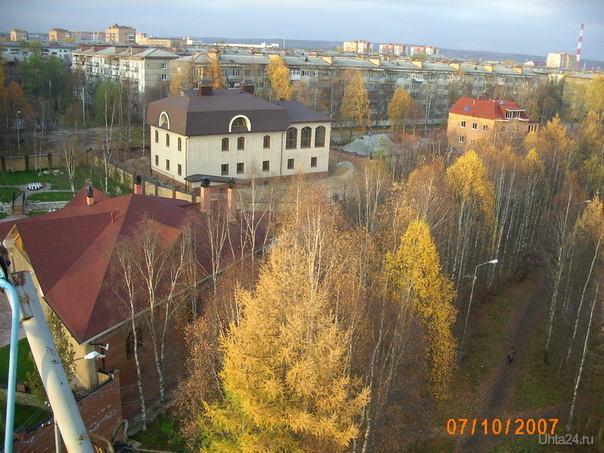 Рублёвка сверху Улицы города Ухта