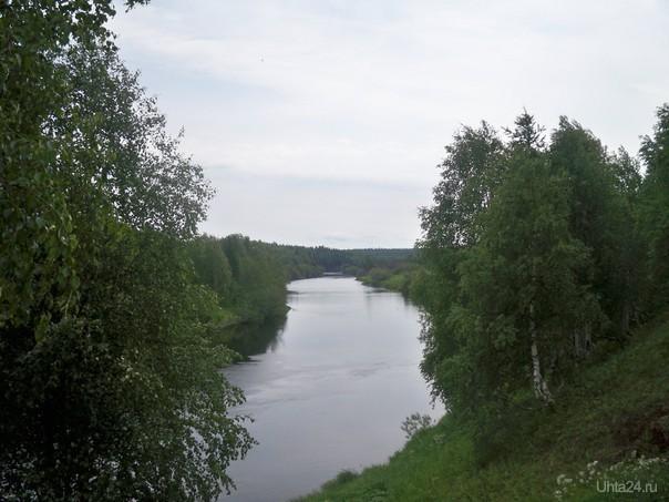 Река Ухта летом. Природа Ухты и Коми Ухта