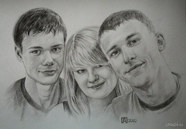 Принимаем заказы на портреты http://vk.com/club34974033  Ухта