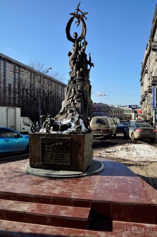 Москва. Памятник жертвам трагедии в Беслане в 2004 году.  Ухта