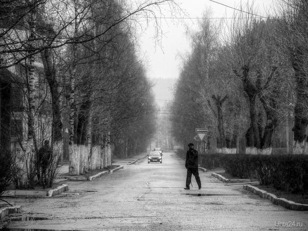 ул. Пушкина. 1.05.2012г.  Ухта