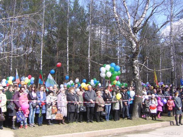 9 мая 2012г.на митинге,посвященном Дню Победы. Мероприятия Ухта
