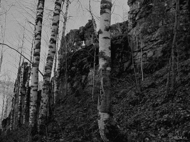 скалы седью Природа Ухты и Коми Ухта