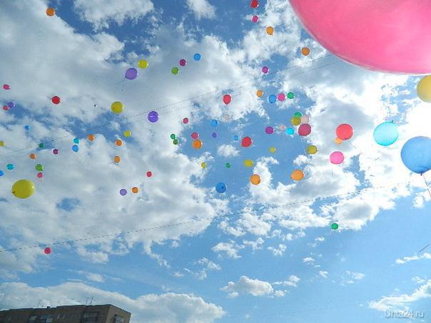 шарики, как птички - выпустили их они и полетели!!! Разное Ухта