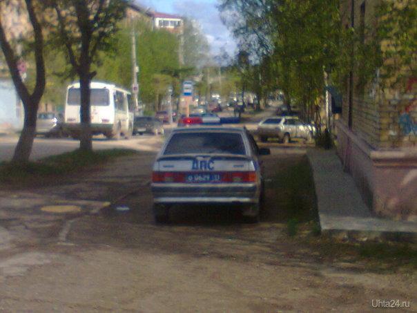 Если инспектора ГИБДД нарушают ПДД, показывают пример для остальных участников дорожного движения  Ухта